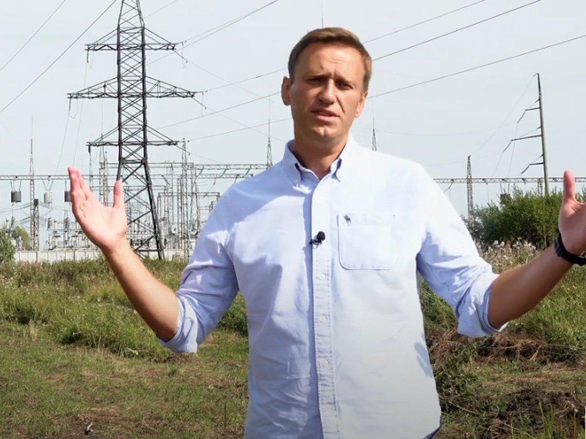 Расследование Навального в Томске