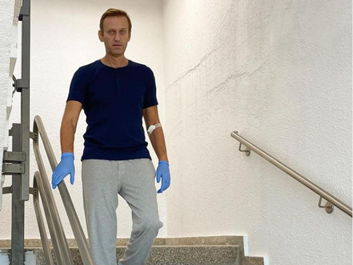 Лечение Навального в Германии