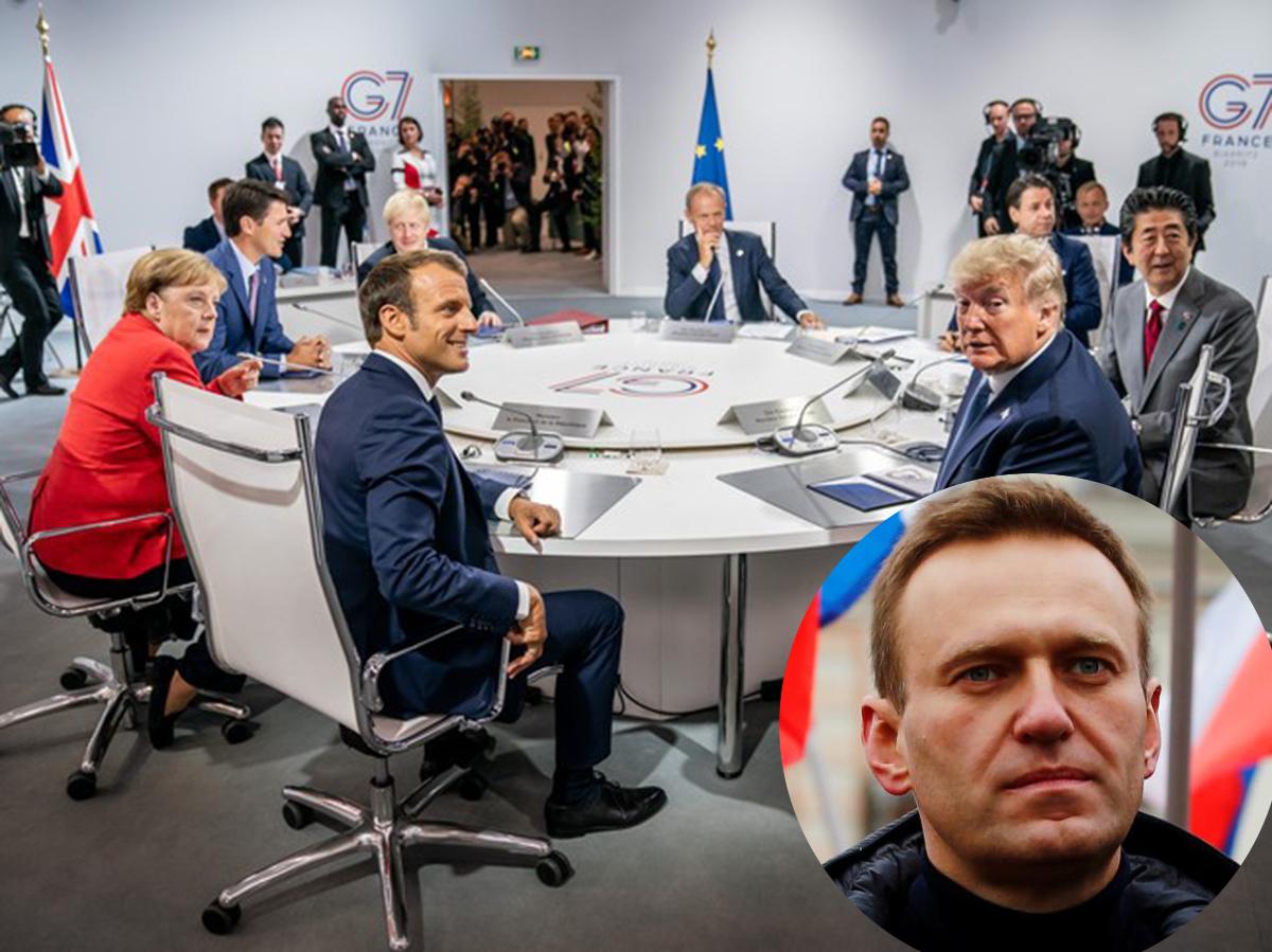 G7 назвали отравление Навального подтвержденным