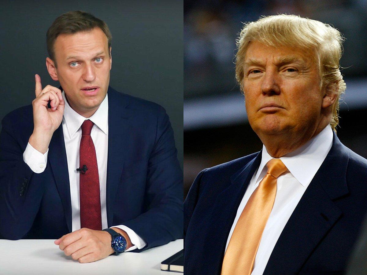 Трамп прокомментировал отравление Навального