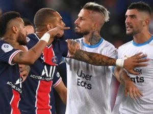 Неймар стал участником массовой драки на чемпионате Франции
