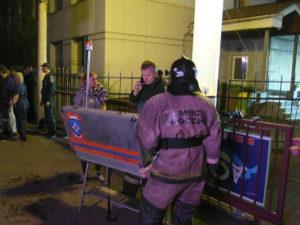Пожар в наркологической клинике в Красноярске