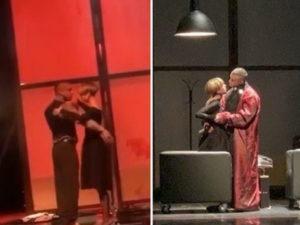 Танец Прилучного и Карпович