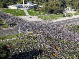 Задержания в Минске на