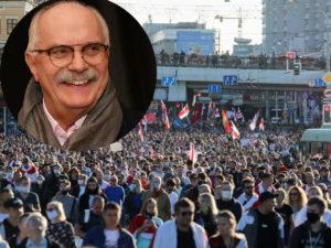 Михалков назвал протесты в Белоруссии компьютерной графикой