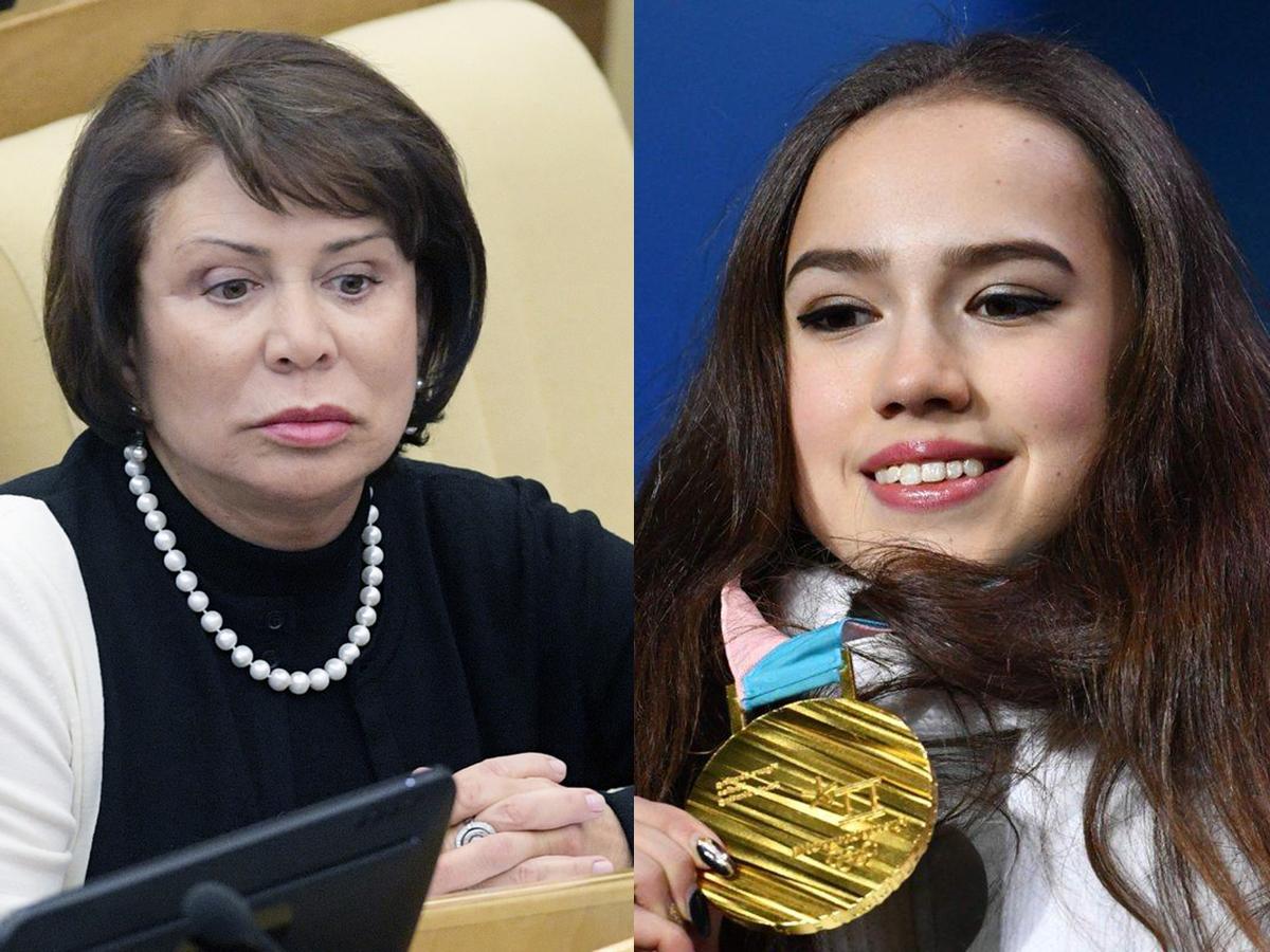 Роднина захотела исключить Загитову из сборной России