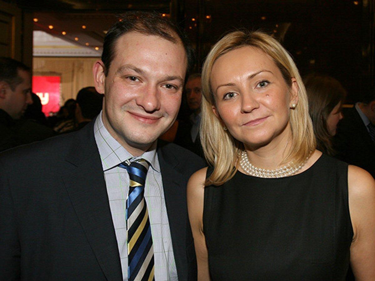 Сергей Брилев с женой