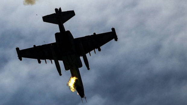 Ереван заявил, что истребитель Турции сбил Су-25 Армении