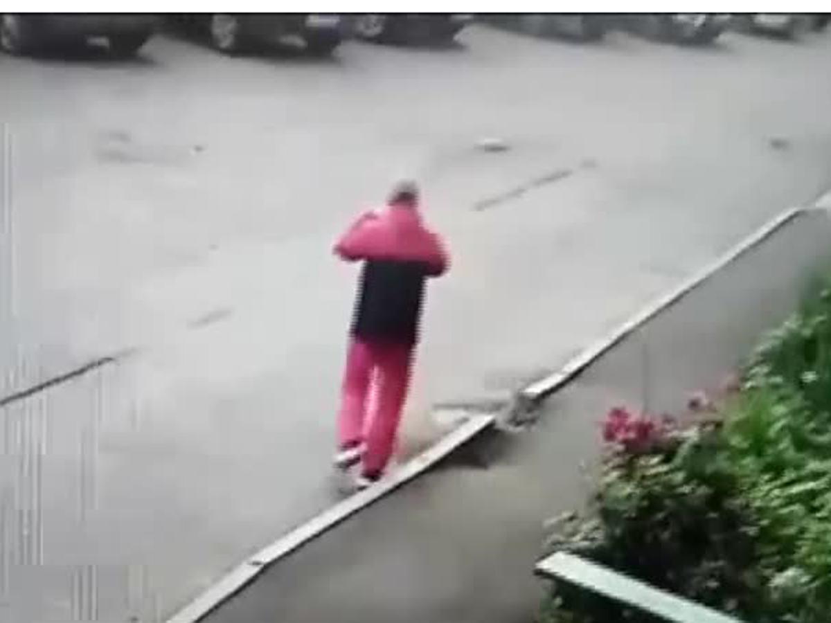 Убийца из Рыбинска на видео