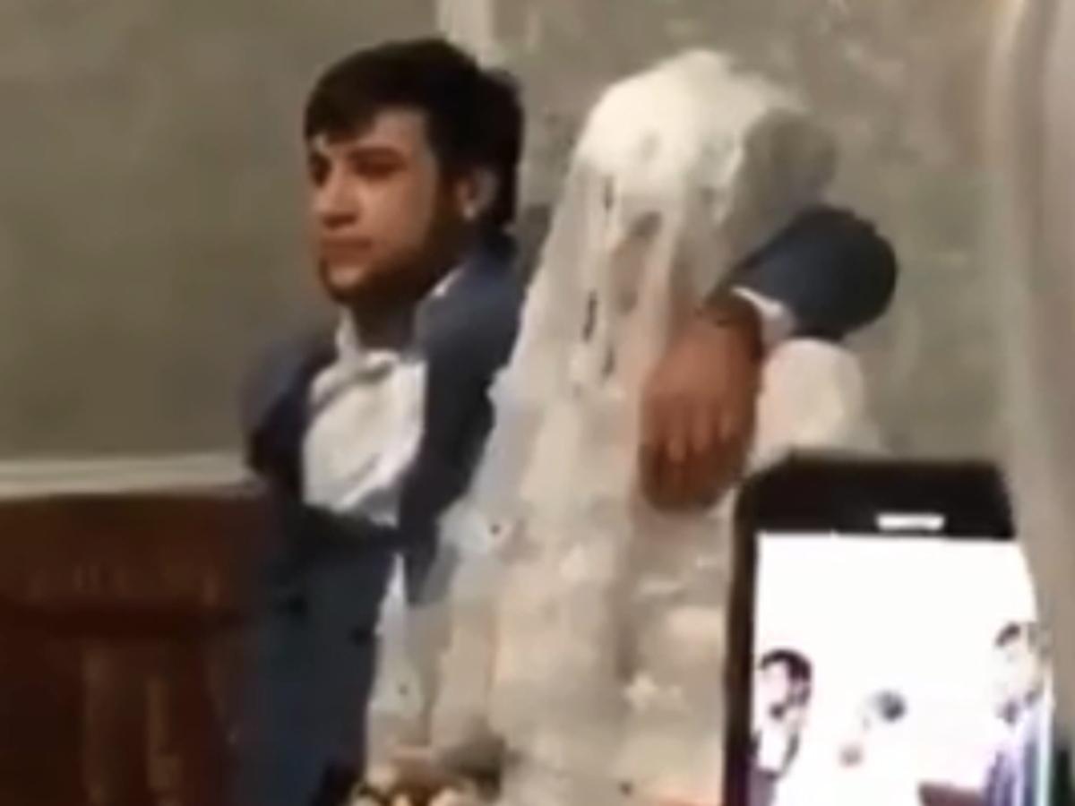 Неуважительная выходка жениха на свадьбе в Дагестане