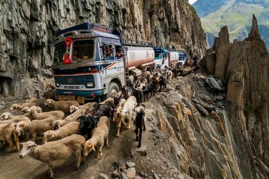 Дорога Зоджи-Ла в Индии