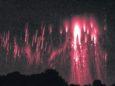 Красные молнии на Урале