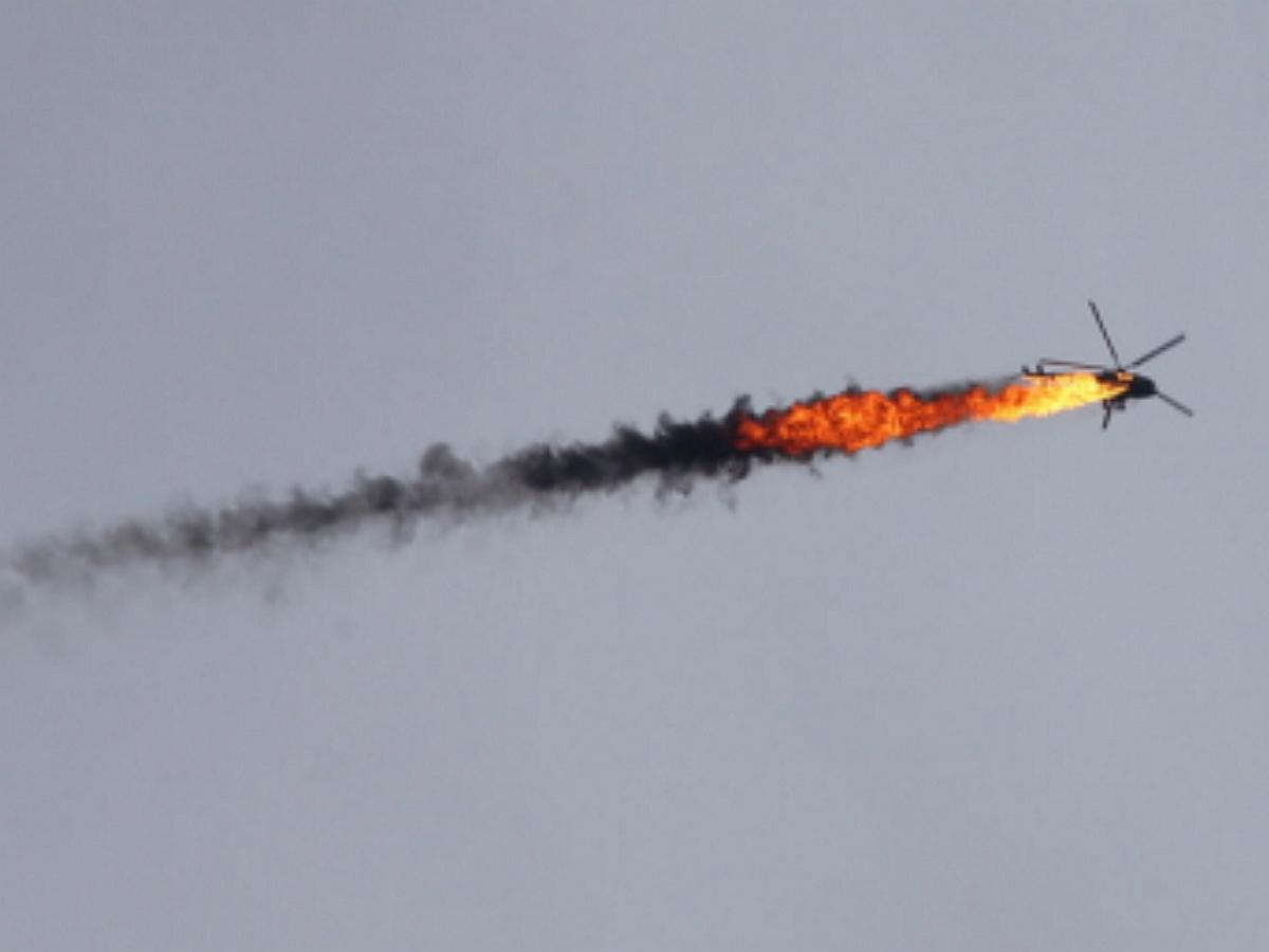 В Ливии потерпел крушение вертолет с бойцами ЧВК Вагнер