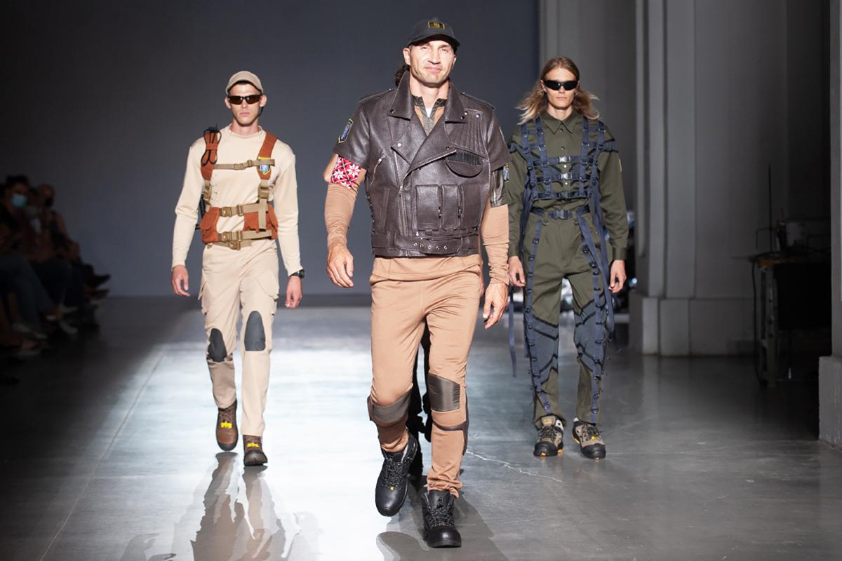Владимир Кличко вышел на подиум в качестве модели