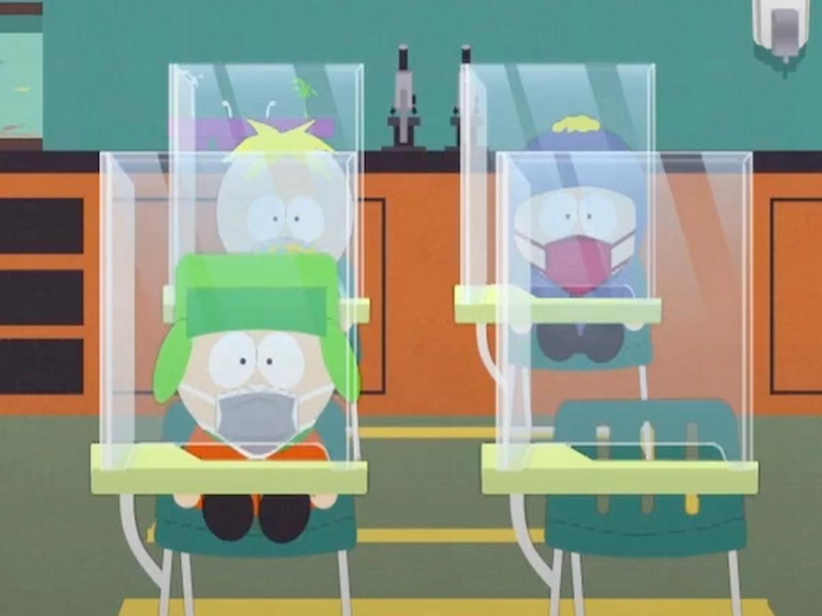 Эпизод «Южного парка» посвятили пандемии коронавируса