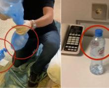 Навальный бутылка