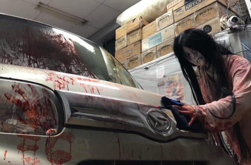 Гараж ужаса: зомби-аттракцион из Японии