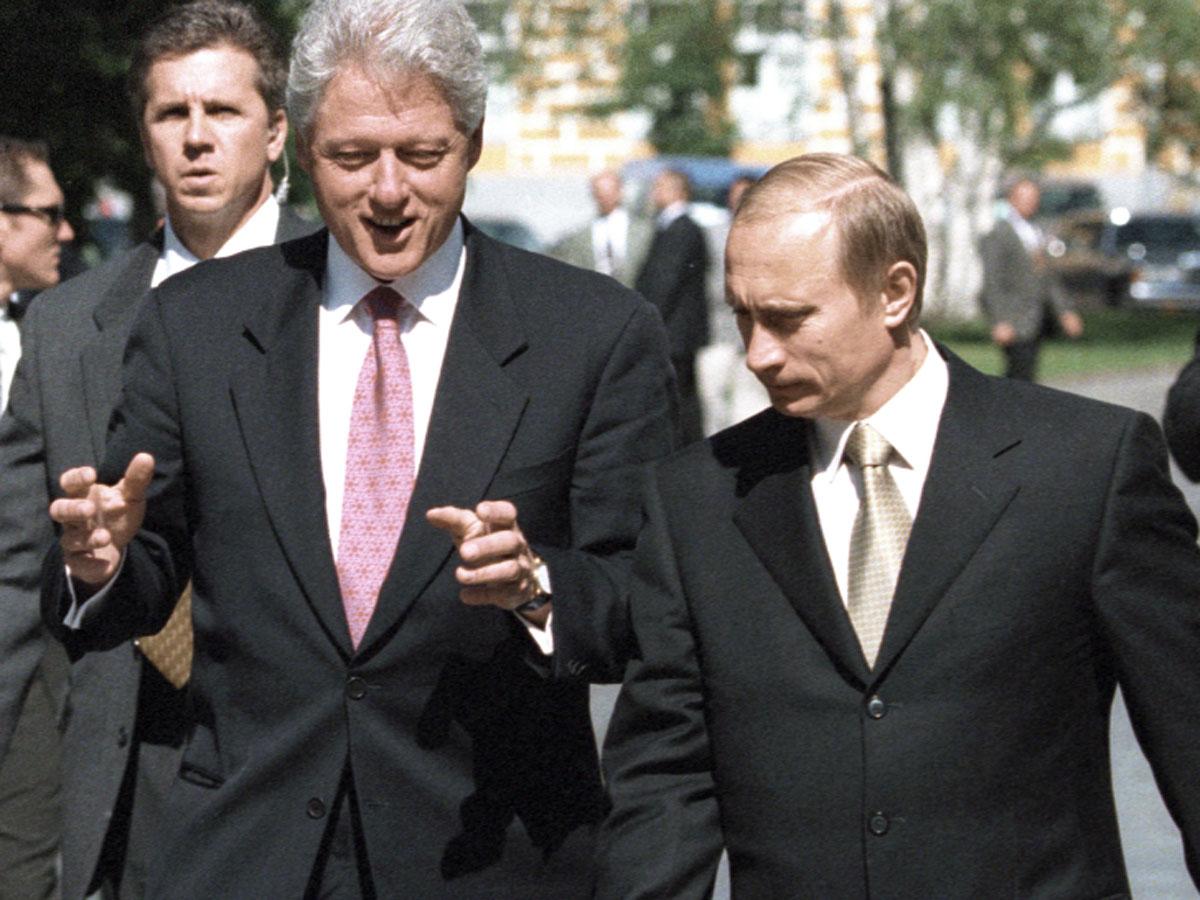 9 секретов Путина и Клинтона