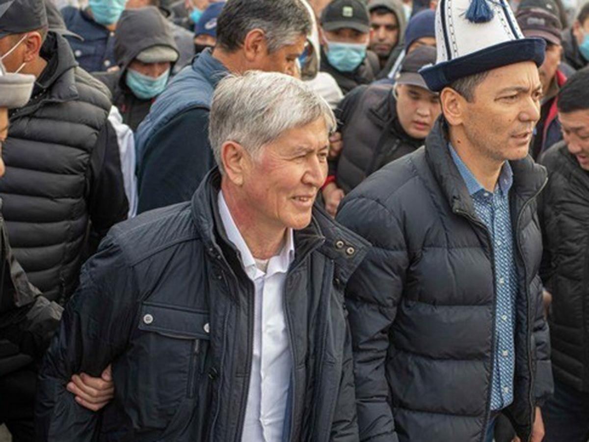 В Киргизии задержали Атамбаева