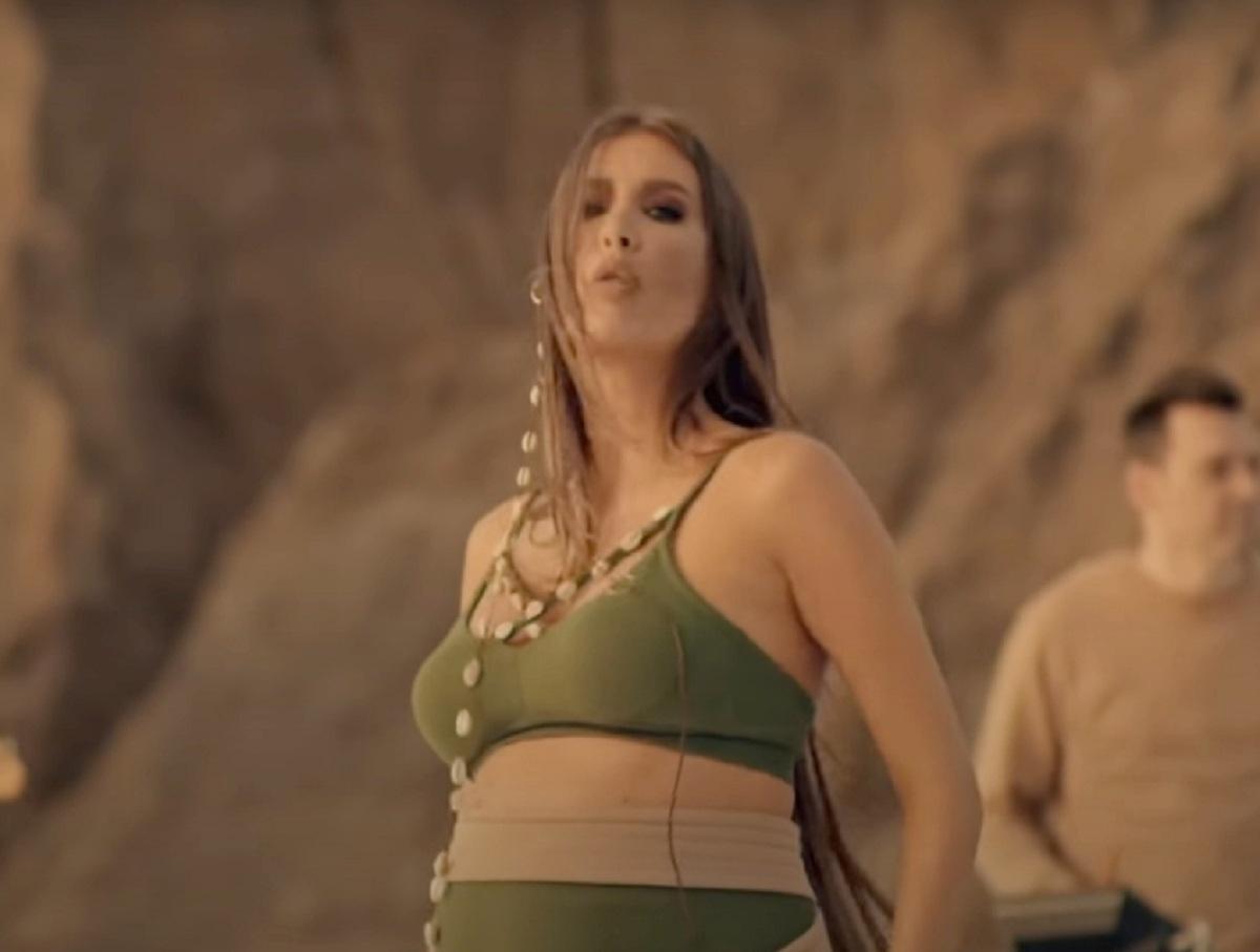 Беременная Кети Топурия с большим животом появилась в новом клипе «А-Студио»
