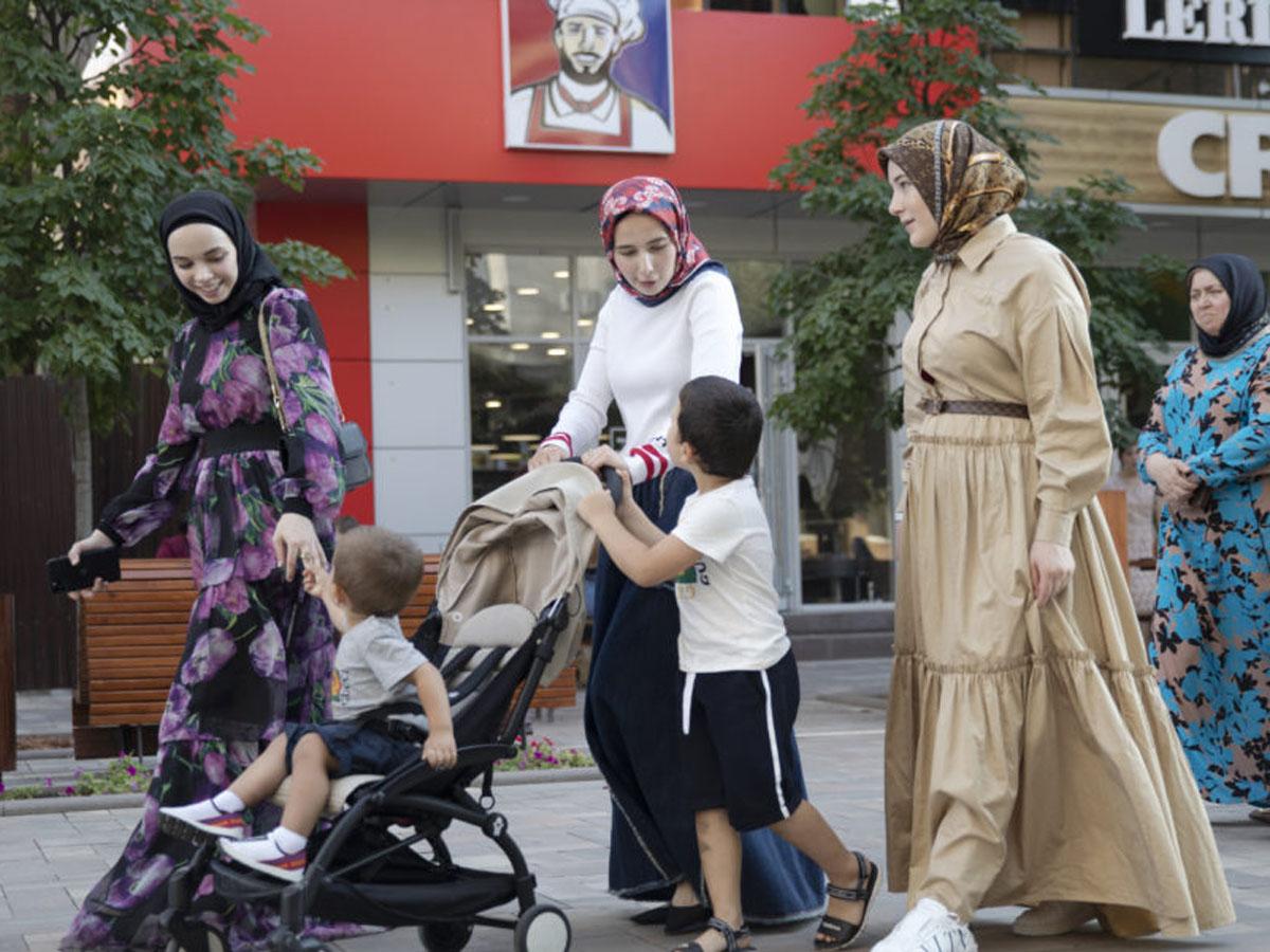 Чечня 100 тысяч новорожденным Мухаммед