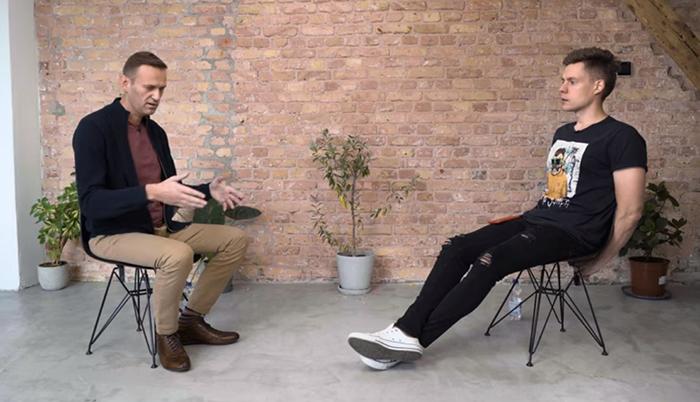 Алексей Навальный дал интервью Юрию Дудю