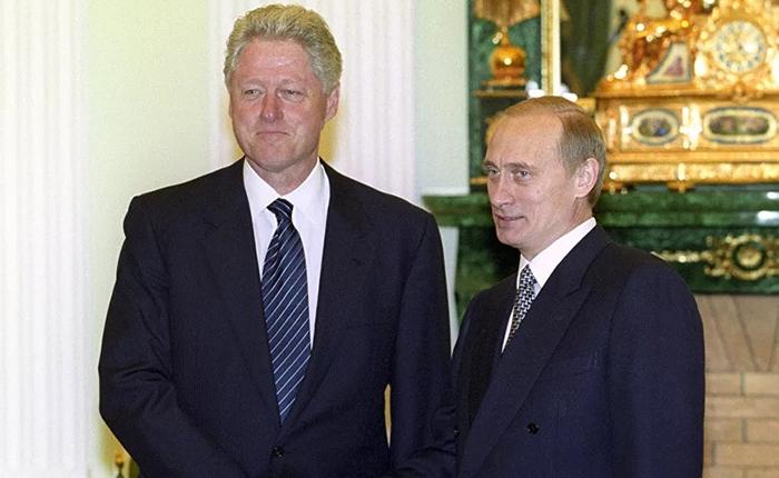 Клинтон Путин