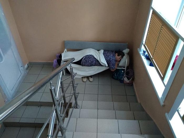 Пациентка с COVID-19 в Новосибирской области