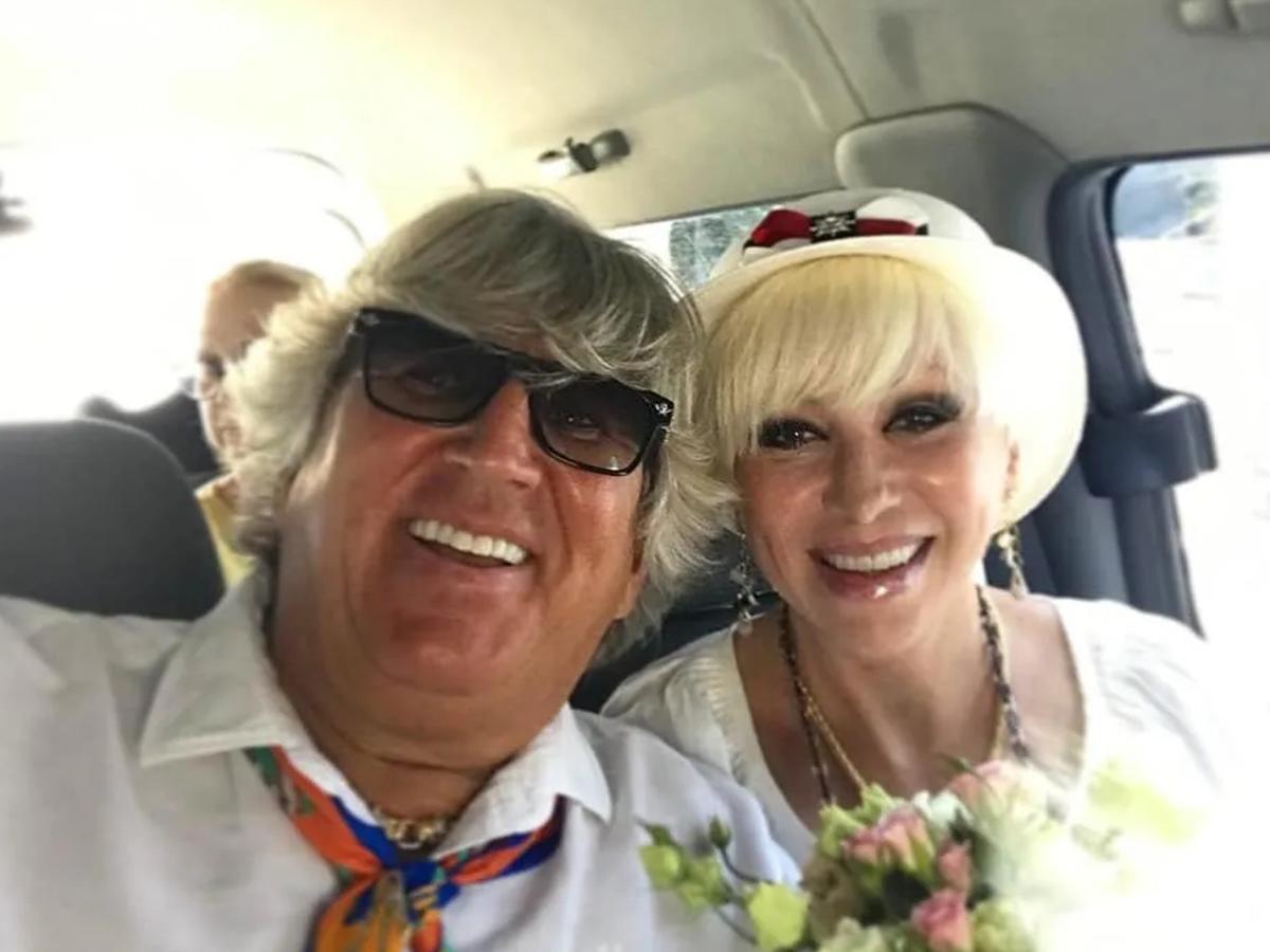 Валентина Легкоступова с мужем