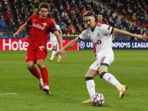 «Локомотив» сыграл вничью с «Ред Булл Зальцбург» в матче Лиги чемпионов