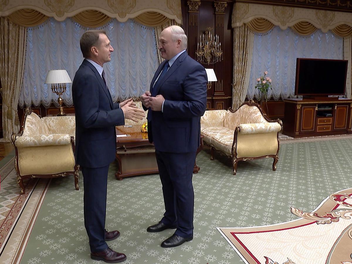 Лукашенко Нарышкин