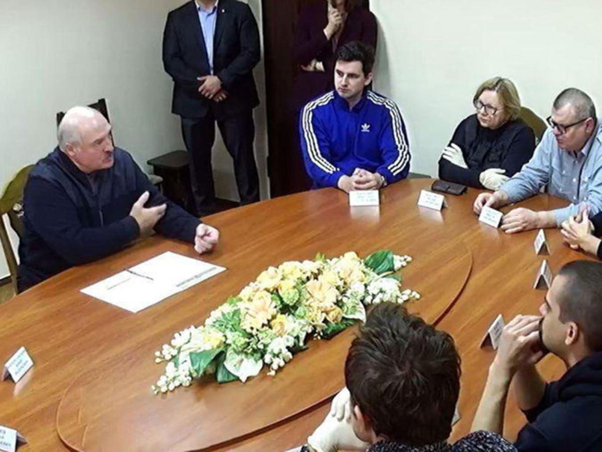 Лукаленко встретился с арестованными в СИЗО КГБ