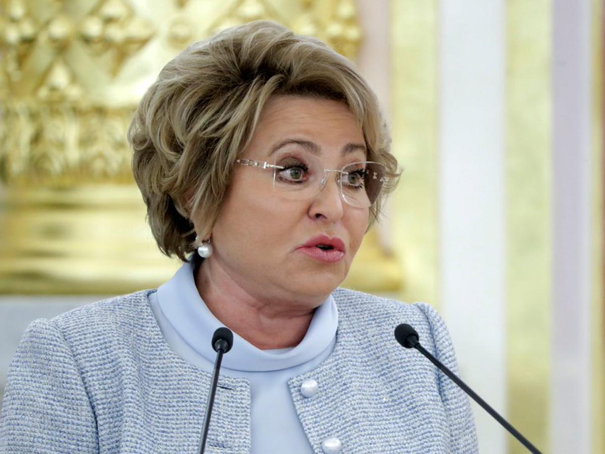 Матвиенко обвинила «Норникель»