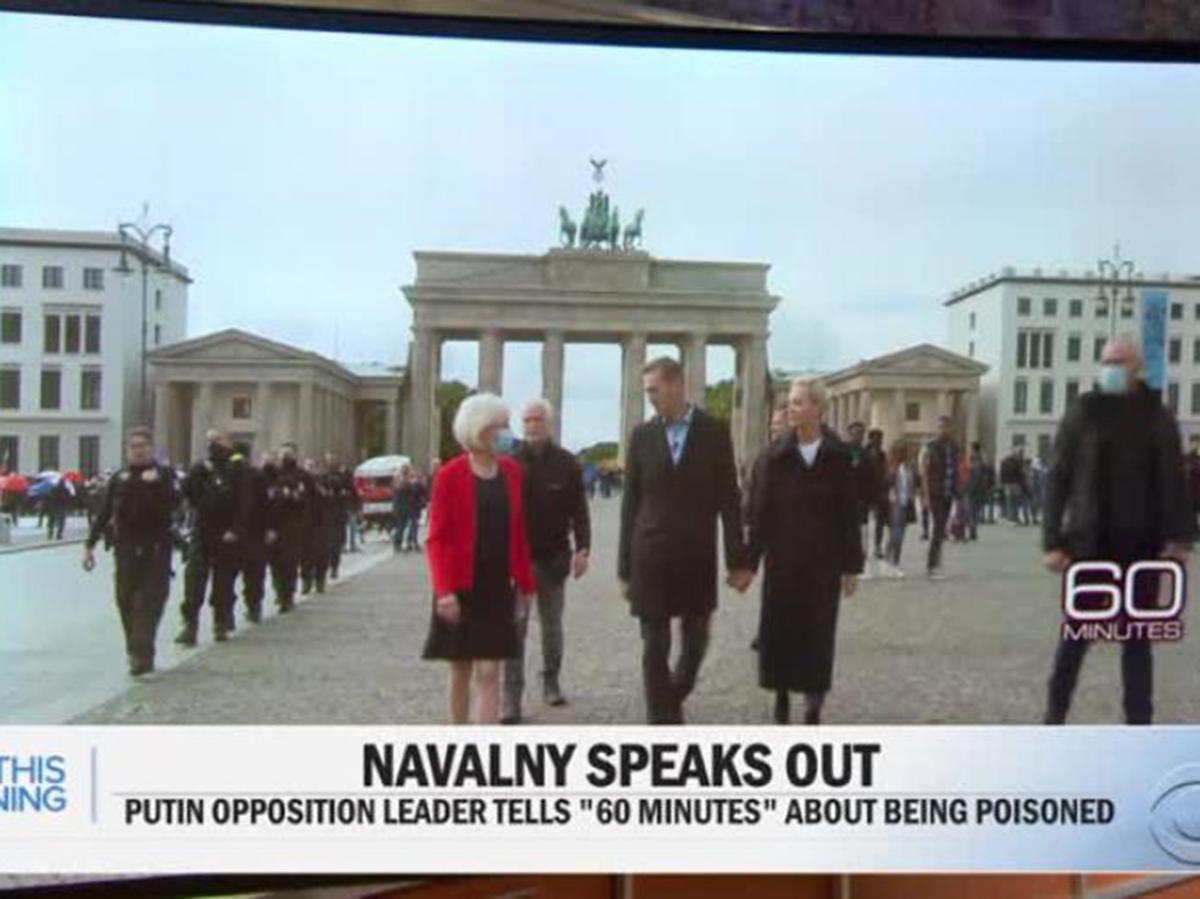 Навальный с женой в Берлине