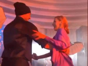 Навка и Костомаров на дне рождения Пескова