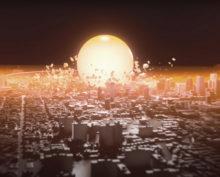 Результат взрыва 800-килотонной бомбы