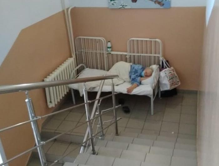 Пациентка с коронавирусом в Новосибирской области