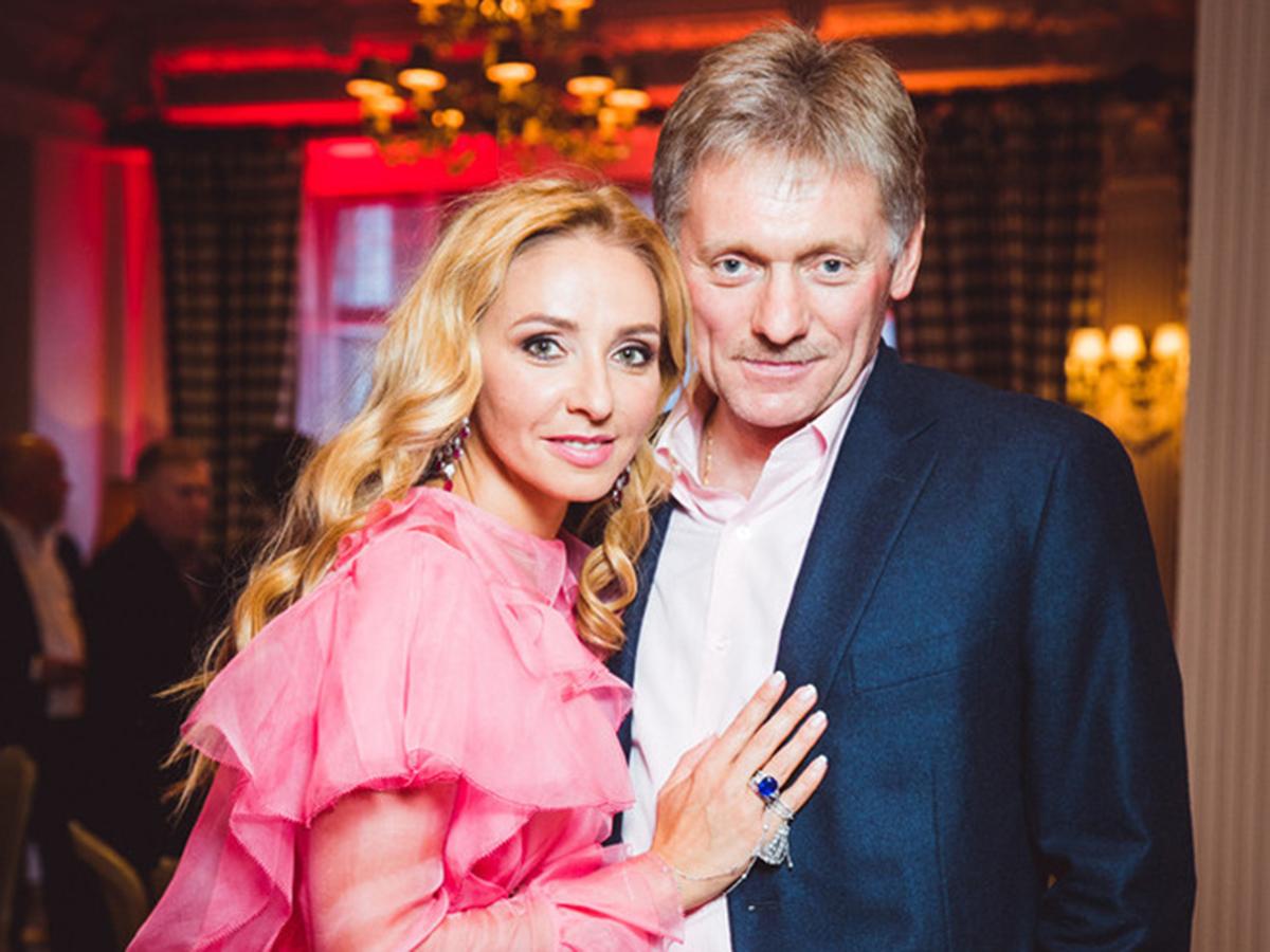 Дмитрий Песков Татьяна Навка