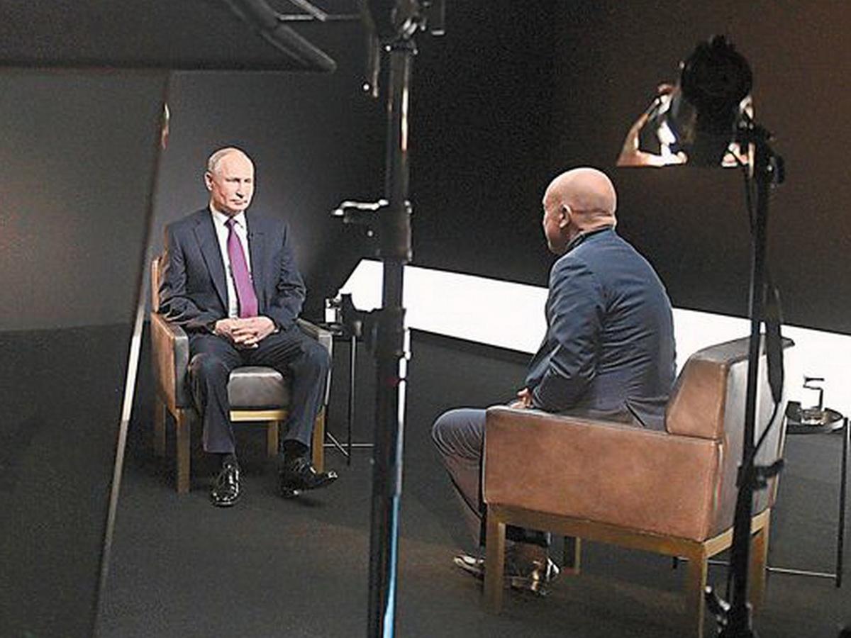 Интервью Путина Ванденко