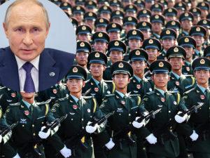 Путин и армия Китая