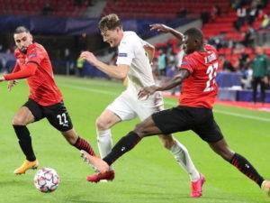 «Краснодар» сыграл вничью с «Ренном» в матче Лиги чемпионов