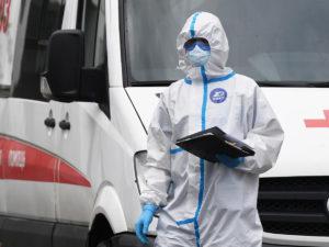 Россия 17000 случаев COVID-19 за сутки