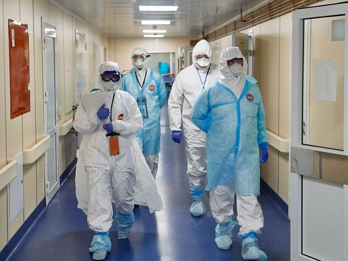 Россия рекорд новых случаев COVID-19