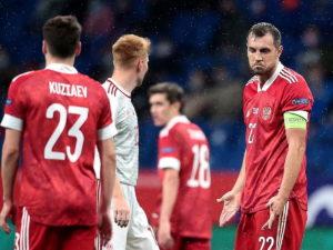 Сборная России сыграла вничью с командой Венгрии в матче Лиги Наций УЕФА