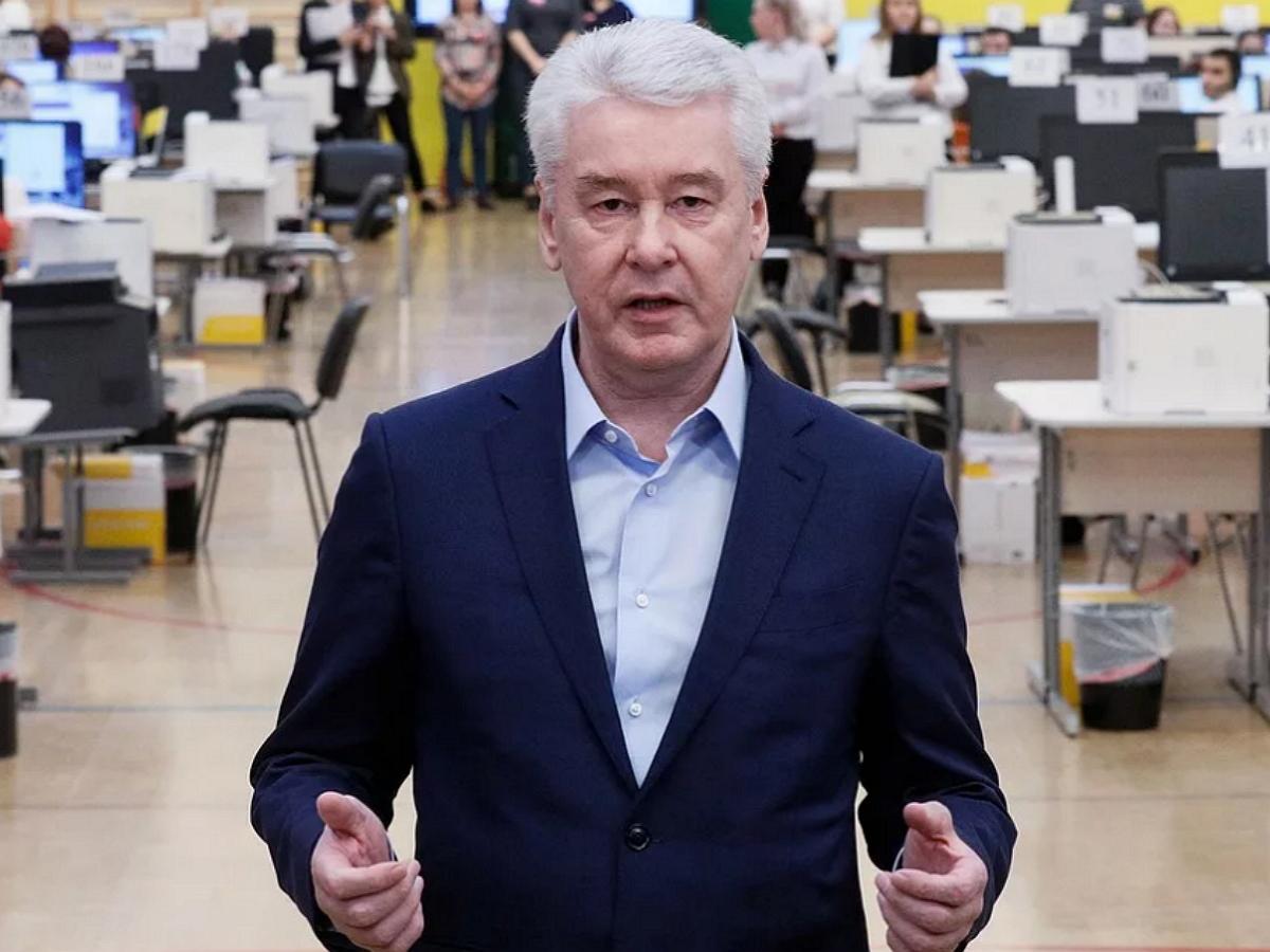Собянин введет штрафы за отказ от перевода на удаленку