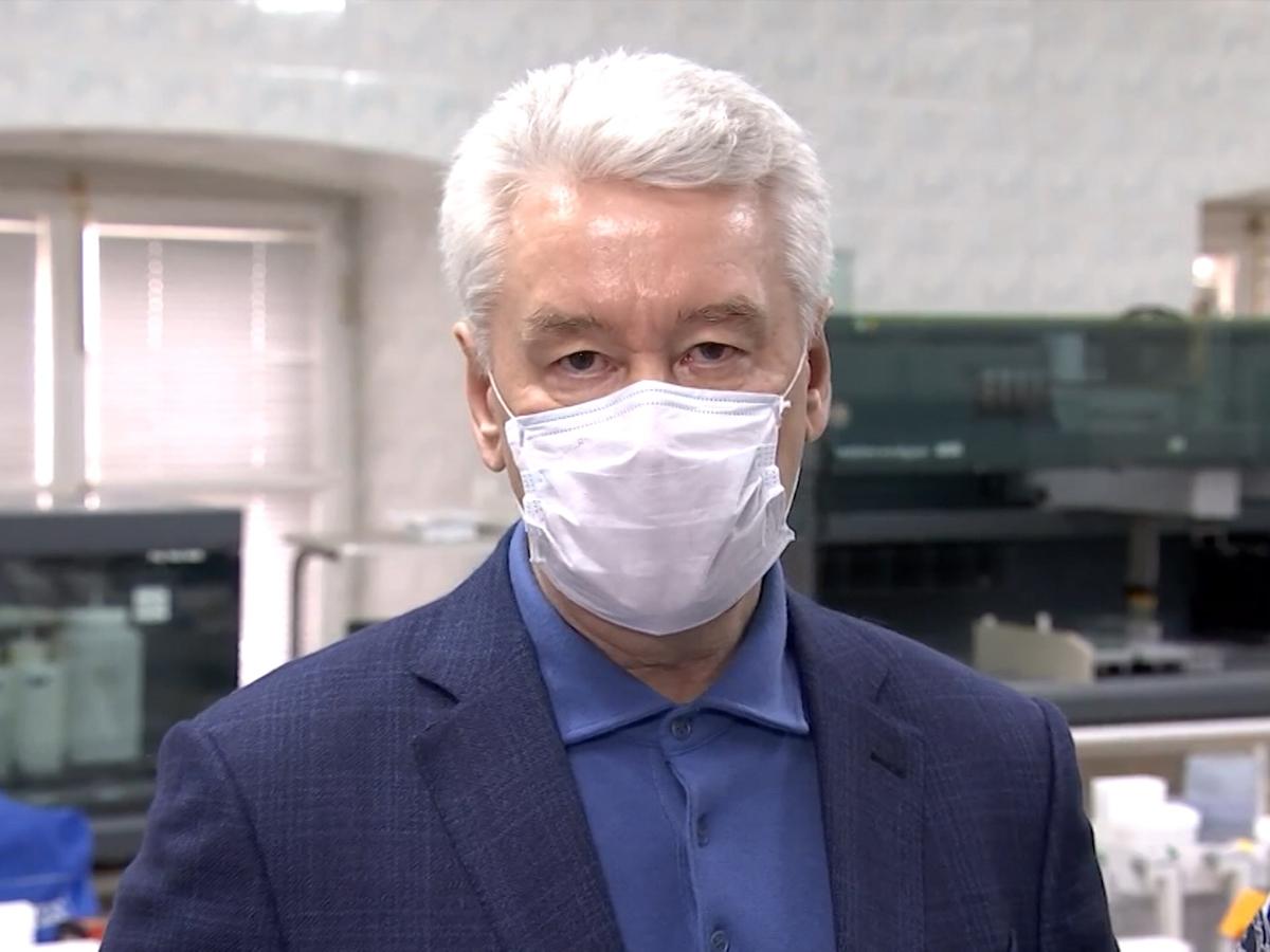 Собянин перевел треть сотрудников в Москве на удаленную работу
