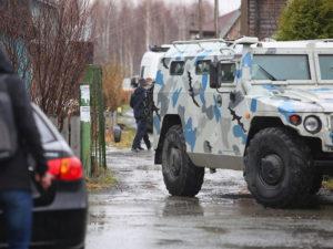 Столкновение в Чечне