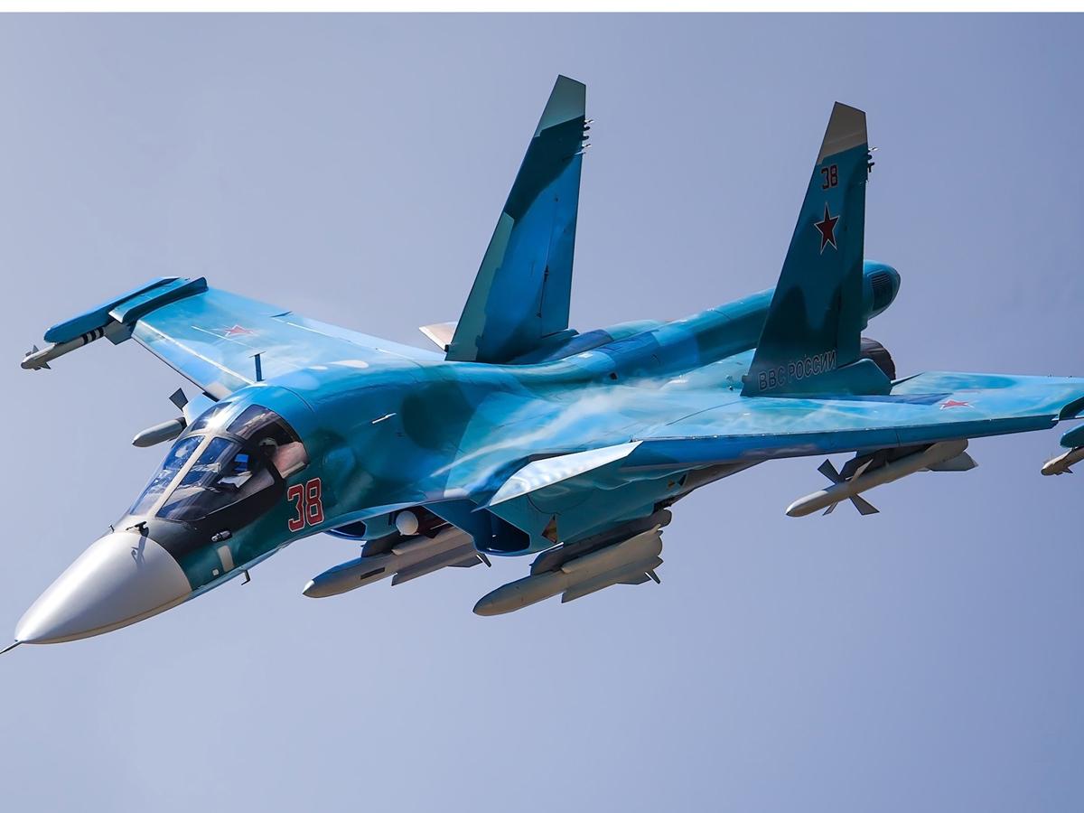 Су-34 упал в Хабаровском крае