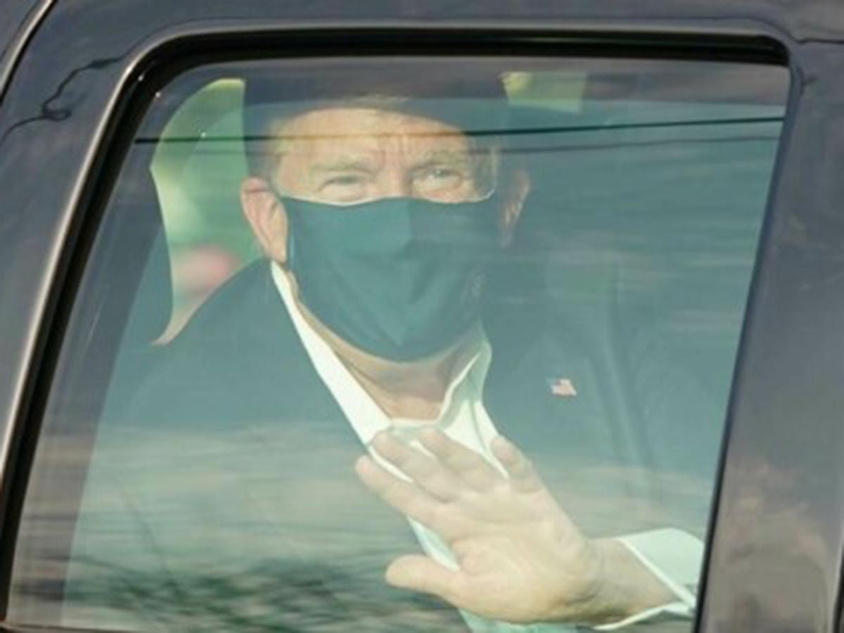 Трамп коронавирус