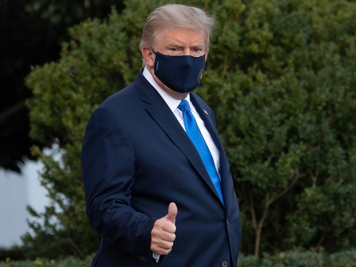 Состояние Трампа после заражения коронавирусом